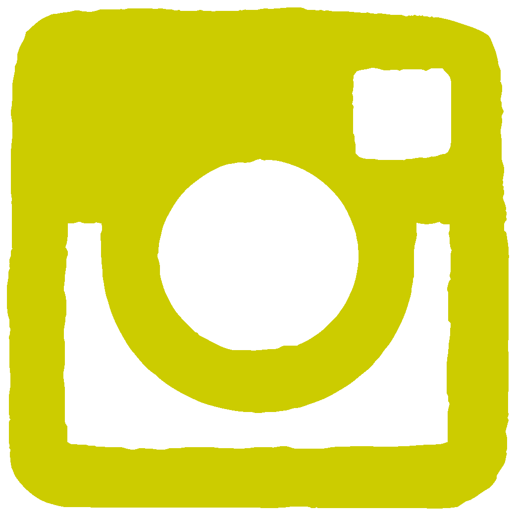 Instagram icon yellow