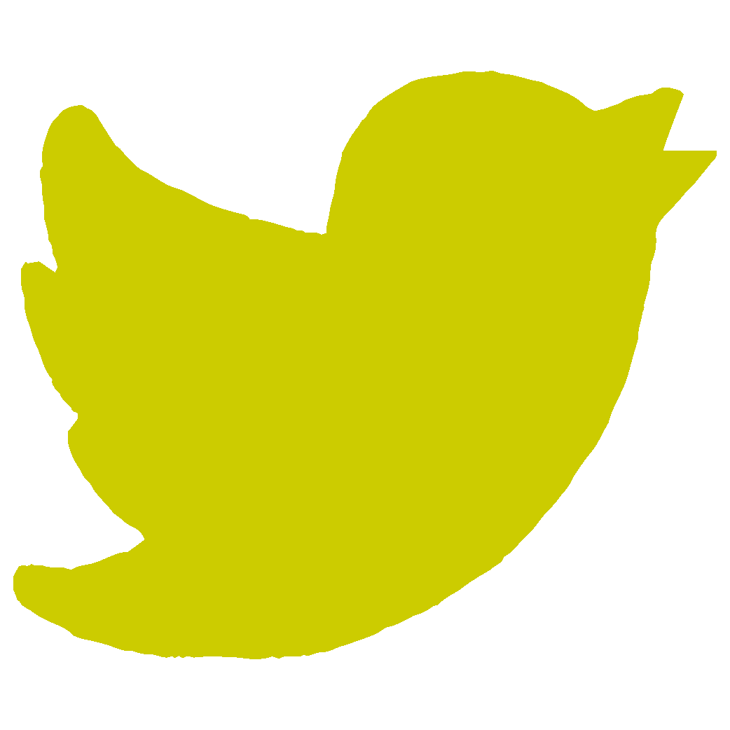 Twitter icon yellow